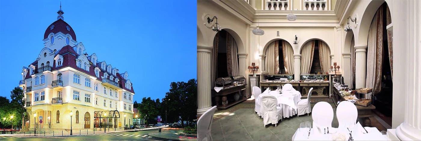 Hotell Rezydent i Sopot
